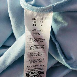 ASOS Maxi Dress Baby Blue